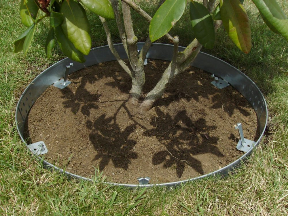 Entourage arbre et arbuste 80cm acier galva 1.5mm