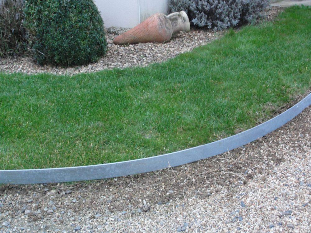 Volige tradition en 5mm acier galva en courbe